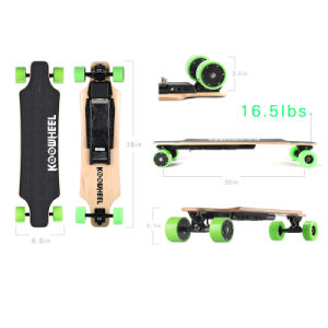 2017 New Arrival Koowheel Hub Motor Electric Skateboard pictures & photos