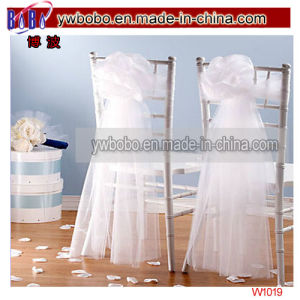 Wedding Decoration White Tulle Draping Wedding Party Products (W1019) pictures & photos