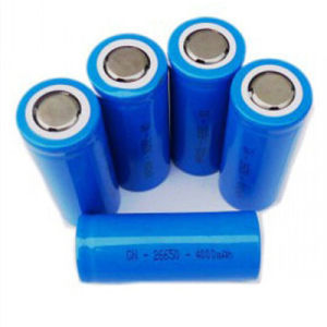 3.2V 1000mAh Rechargeable Cylindrical LiFePO4 Batteries pictures & photos