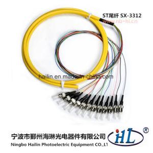 Fiber-Optical Communications System ST/PC 9/125 Fiber Optic Fanout Pigtails pictures & photos