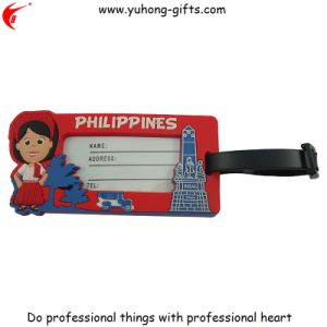 Customized OEM PVC Luggage Tag for Promotion (YH-LT014) pictures & photos