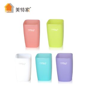 6119 Metka Household Plastic Colorful Square Water Cup & Mug pictures & photos
