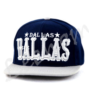 Snapback Embroidery New Fashion Sport Caps with Flat Visor pictures & photos