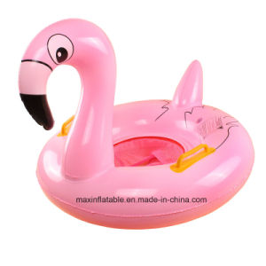 Outdoor Swimming Tools PVC or TPU Inflatable Flamingo and Swan Floating Baby Seat pictures & photos