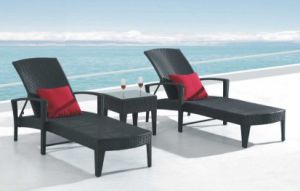 Outdoor Rattan Furniture Leisure Lounge Bed-5 pictures & photos