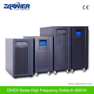 True Online UPS 192VAC LED LCD Display Pure Sine Wave Online No Breaks (DX6kVA-DX20kVA) pictures & photos