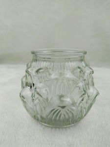 425ml Lotus Candle Glass Holder