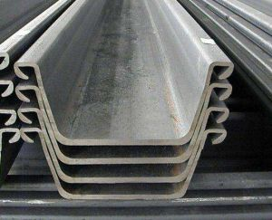 Hot Rolled Steel Sheet Pilesteel, Sheet Piling, Piling Beam pictures & photos
