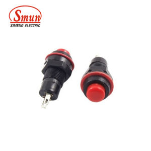 Ds-211 1A 250VAC Small on-off 10mm Push Button Switch pictures & photos