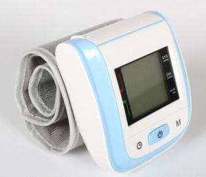 Automatic Extra Large LCD Pulse Rate Digital Wrist Tech Blood Pressure Monitor