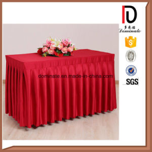 Decorative Cheap Table Skirt for Wedding pictures & photos
