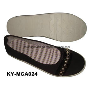 Lady Sport Casual Shoes Canvas Upper pictures & photos