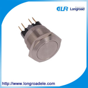 Push Button Switch with Metal, Ce Electrical Micro Switch pictures & photos