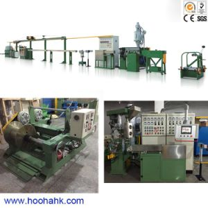 Physical Foam Cable Wire Extruding Machine pictures & photos