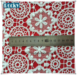 Water Soluble Lace Fabric with High Quality pictures & photos