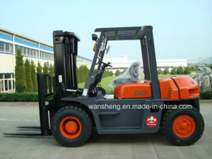 6000kg Capacity Diesel Forklift Truck / 6.0t Diesel Forklift pictures & photos