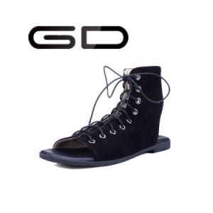 Gdshoe Roman Style Flat Sandals pictures & photos