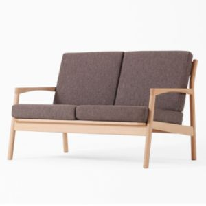 Modern Beech Wooden Single Sofa Set for Living Room pictures & photos