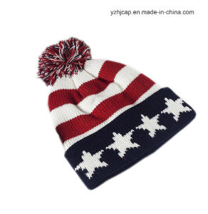 Knitted Hat Jacquard Beanie Hat pictures & photos