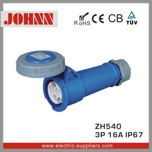 High Quality IP44 4p 16A Industrial Connector pictures & photos