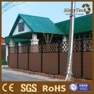 Slap-up Durable Wood Plastic Villa Garden Composite Fence pictures & photos
