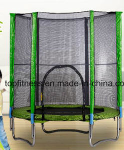TUV Approved Trampoline with Safety Pad & Enclosure Net & Ladder All-in-One Combo Set pictures & photos