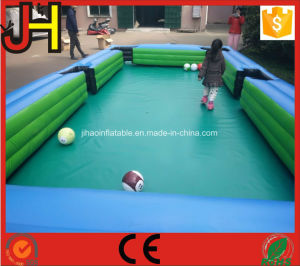 Inflatable Snooker Ball Game, Inflatable Foot Pool, Football Pool Table pictures & photos