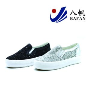 Sequin Fashion Casual Shoes for Women Bf1701620 pictures & photos