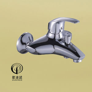 Oudinuo Brass Body Single Handle Kitchen Faucet 68915 pictures & photos