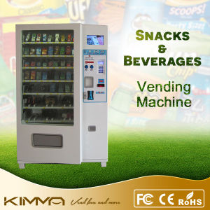 Combo Condom Vending Machine to Accept Bill and Coin Payment pictures & photos