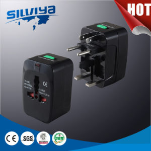 High Quality! Universal EU&UK Travel Adapter with USB or Without pictures & photos
