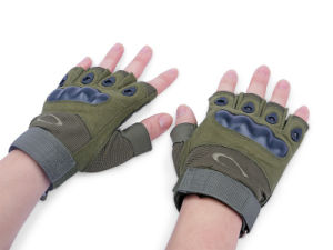 Airsoft Military Half Finger Tactical Gloves pictures & photos