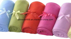 Competitive Price Plain Travel Car Blanket Sleep Blanket Air Conditioner Blanket Fleece Blanket pictures & photos
