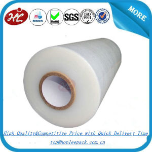LLDPE Material Soft Hardness Clear Pallet Stretch Wraps Film pictures & photos