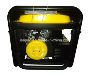 5.0kw Wheels & Handle P-Type Gasoline Generator De Gasolina De 4 Tiembo pictures & photos