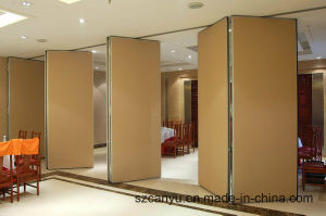 Restaurant/Hotel Sliding Decorative Room Partition pictures & photos
