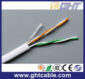 Twisted Pair of UTP Cat5e for Ethernet/2 Pare Telephone Cable pictures & photos