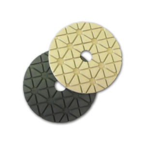 "4"" Flexible Diamond Hand Polishing Pads pictures & photos"