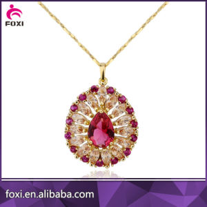 2016 Factory Wholesale Luxury Good Quality Brass 18k Gold Fashion Jewelry Sets pictures & photos