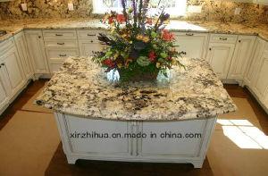 Excellent Quality Brazil White Delicatus Granite Worktop/Vanitytop/Countertop pictures & photos