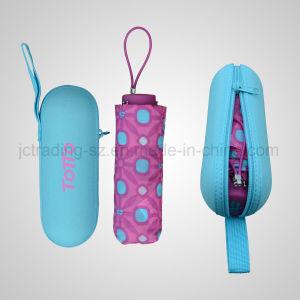 5 Folding Manual Fashion Parasol Five Folding Aluminium Gift Umbrella (JF-MTT501) pictures & photos