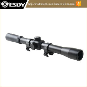 Telescope 4X20 Airgun Rifle Scope 20mm Weaver Rail Mounts8.98 pictures & photos