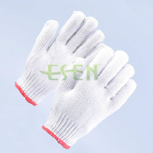 Knitted Cotton Gloves, Working Gloves, Safety Gloves, Safety Glove Equipment pictures & photos