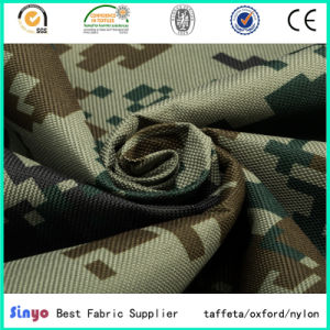 High Strength PVC Coated 1200d Cordura Fabric with Camouflage Printed pictures & photos