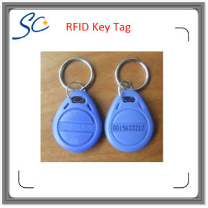 Laser Printing Number ABS Material RFID Keyfob for Tenant pictures & photos