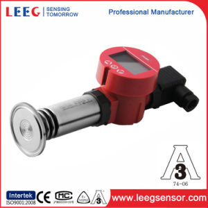 4-20mA Sanitary Gauge or Absolute Pressure Sensor with Flush Diaphragm pictures & photos