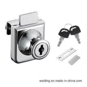 407 Zince Alloy Furniture Glass Door Lock pictures & photos