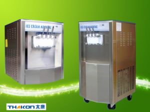 1. Stainless Steel Soft Ice Cream Machine with Ce pictures & photos