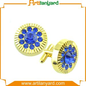 Personalized Fashion Cufflink Plating Gold pictures & photos
