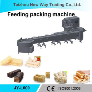 Automatic Feeding and Package Pillow Machine for Food/Chocolate pictures & photos